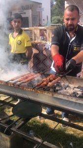 Kebabs at Gastro Antep Fest.