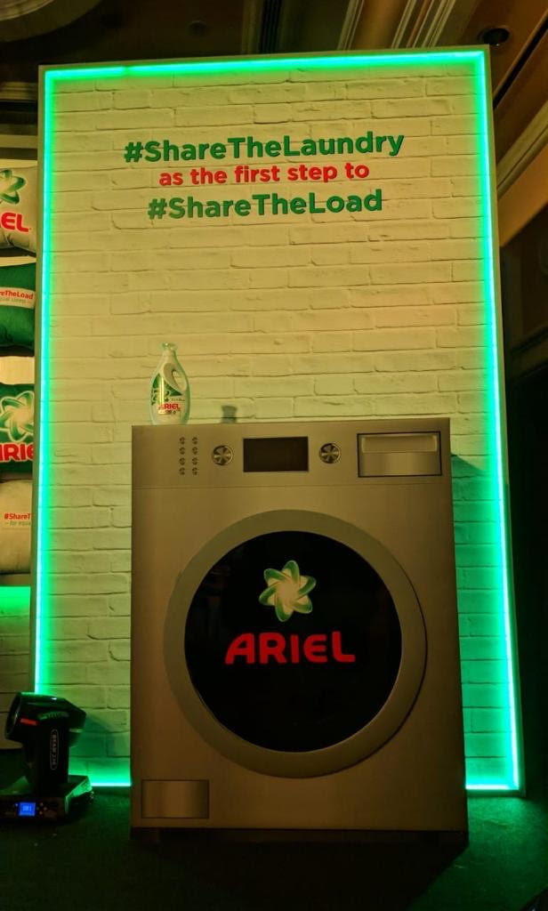 Ariel India's Share the Load Campaign.