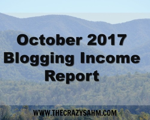 Blogging Income report for the month of October 2017. How I made $181 in October by blogging.
