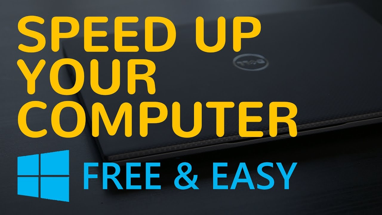tips to speed up slow computer