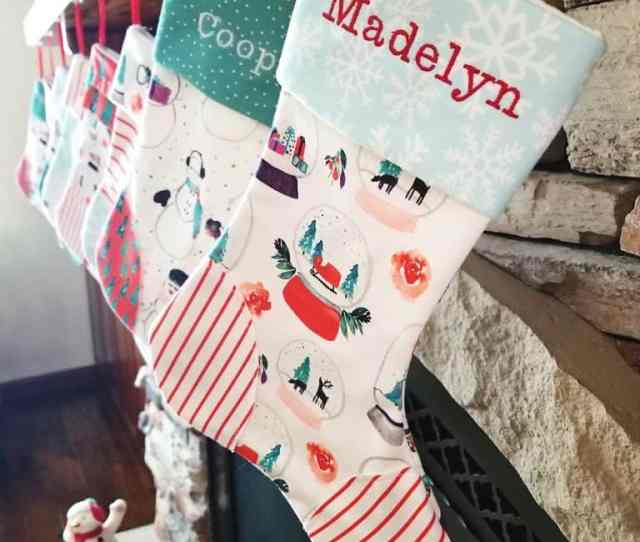 How To Make Homemade Christmas Stockings