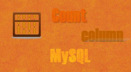 Count Number of Columns in MySQL