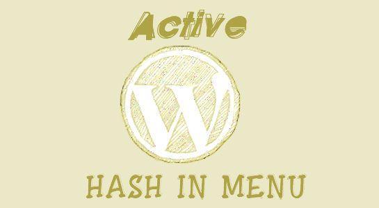 Active Menu using jquery in Wordpress