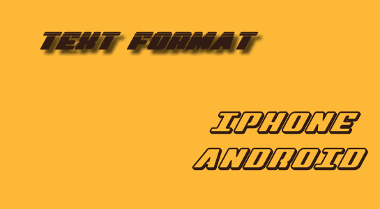 Display Text Format Proper in IPHONE+ANDROID