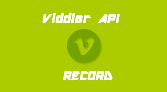 Record and Play the video using Viddler