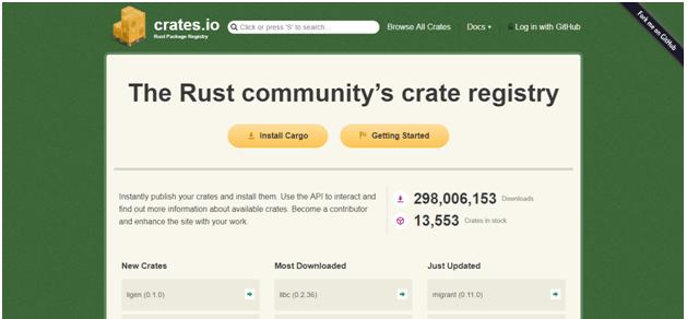 create project in rust