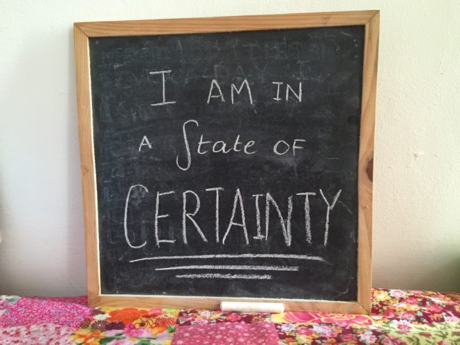 How to have more patience and certainty