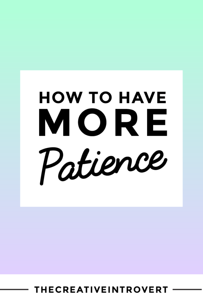 Are we there yet!? Tips for dealing with an impatient mind.