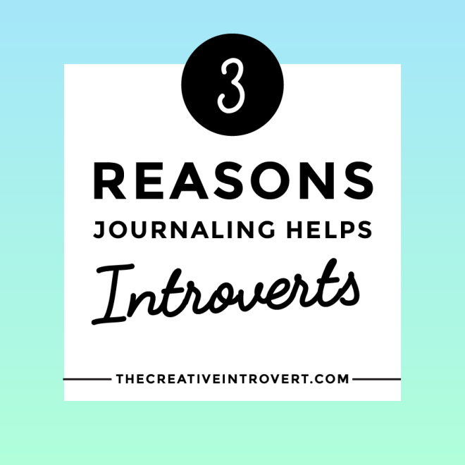 Why journaling helps introverts >>