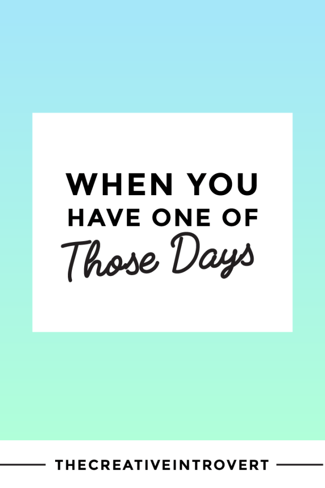 Having 'one of those days'? Here are 5 simple things you can do to feel better >>