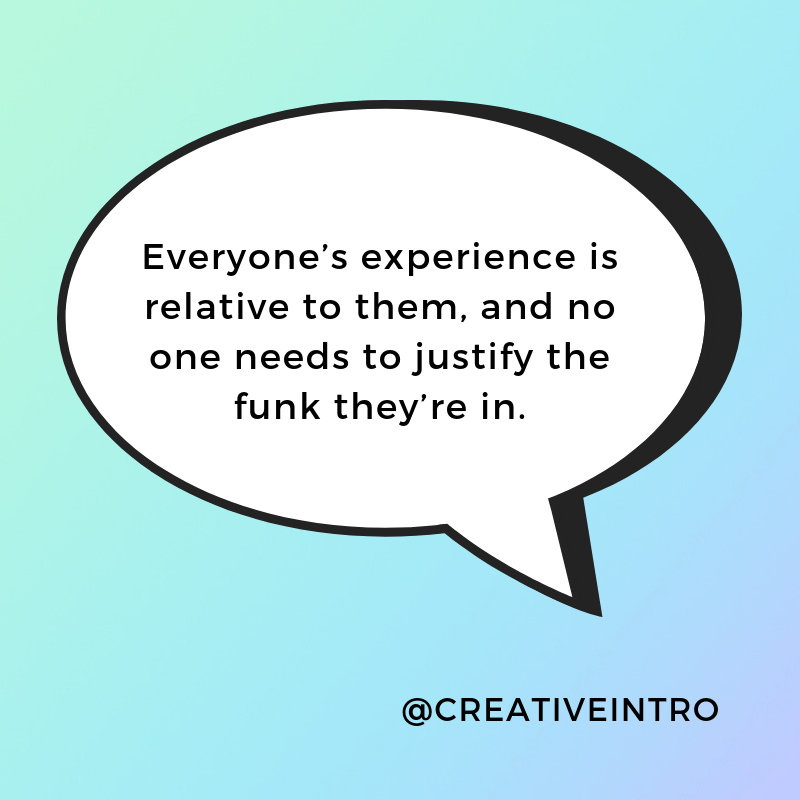 How to get out of a Creative Funk