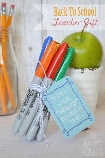 teacher gift sharpies