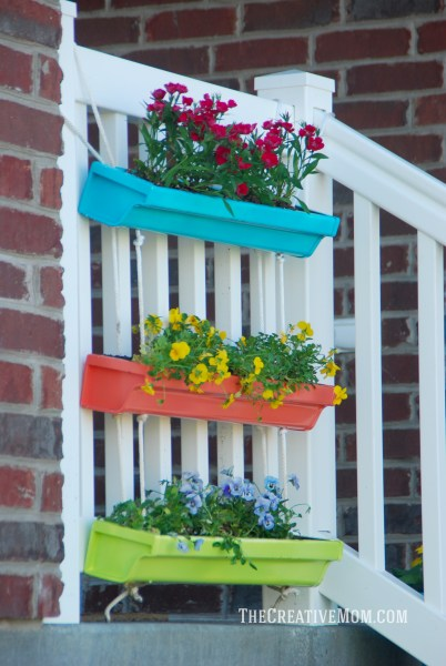 Hanging Gutter Planter