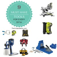 9 Must Have Tools for Every DIY'er