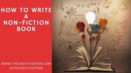 How to Write a Non Fiction Book   The Creative Penn how to write non fiction