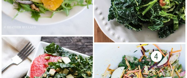 Yep, I'm Still (Reluctantly) Eating Meat, Plus 4 Yummy Vegetarian Salad Recipes to Try