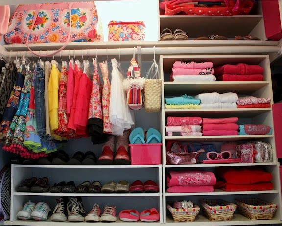 arrange your bedroom closet
