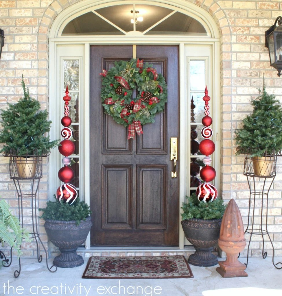 pottery barn outdoor christmas decorations