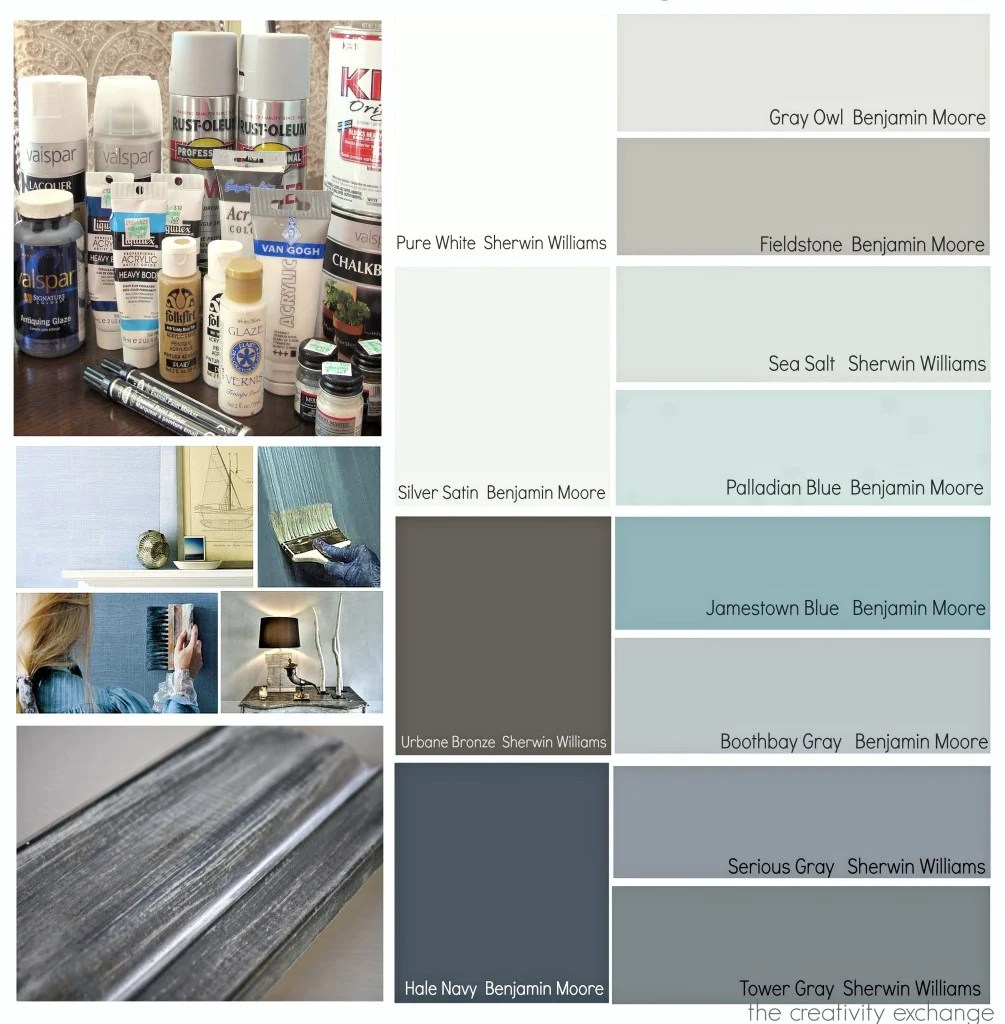 Superb Most Popular Paint Projects And Color Palettes In 2013 {Paint It Monday}.
