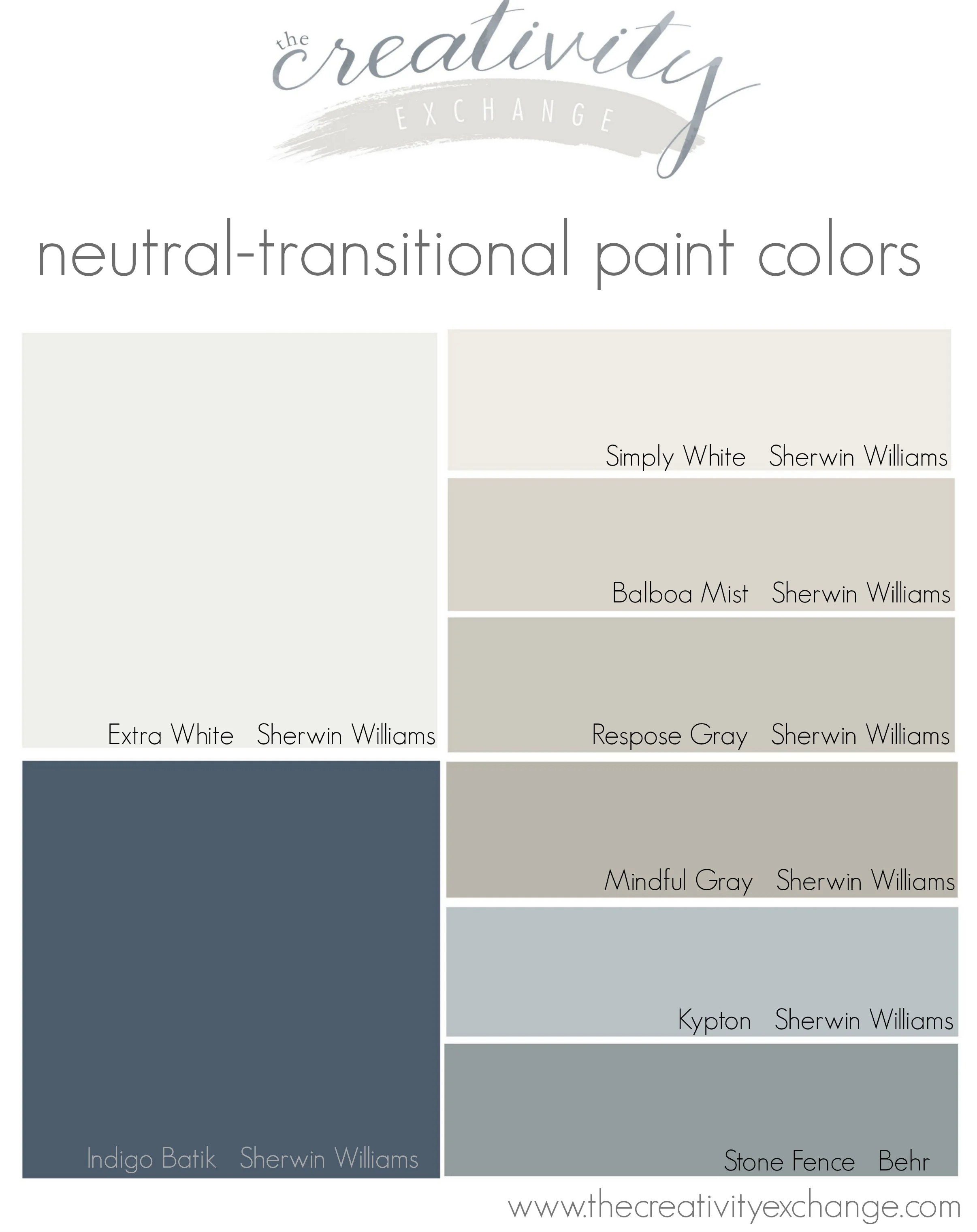Paint Colors In My Home My Color Strategy