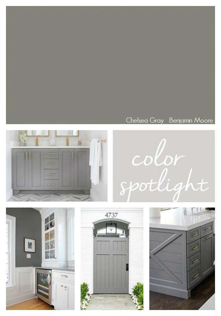 Color Spotlight Benjamin Moore Chelsea Gray