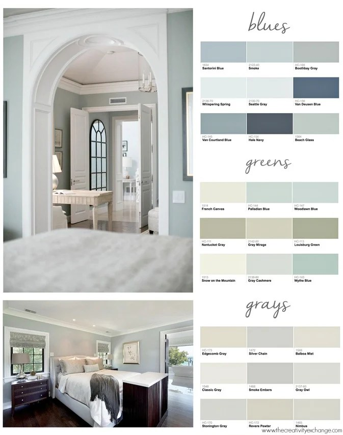 Top paint colors for bedrooms