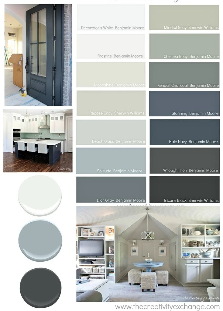 My Go To Paint Colors