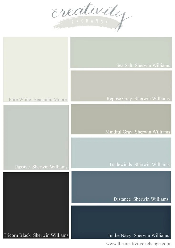 Superior 2016 Bestselling Sherwin Williams Paint Colors