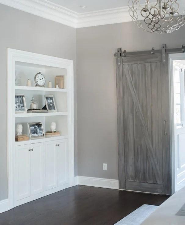 modern and rustic interior sliding barn door designs Rustic Gray Barn Door id=84372