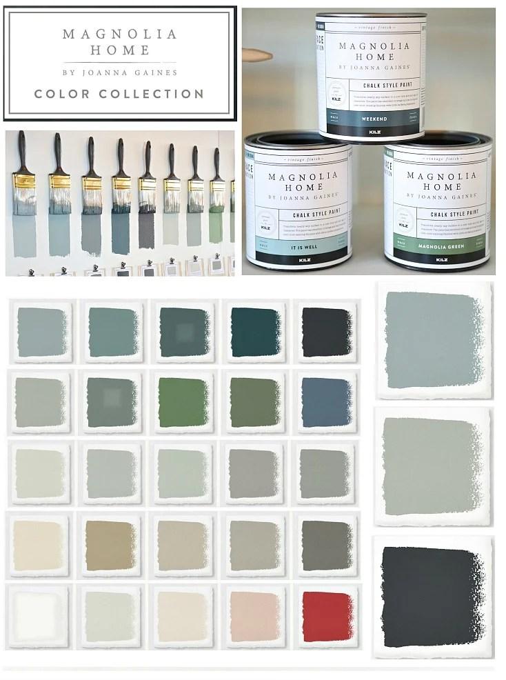 Joanna Gaines Chalk Style Paint Line