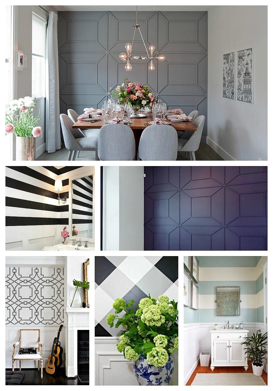 Creative DIY Wall Treatments on Creative Wall  id=41814