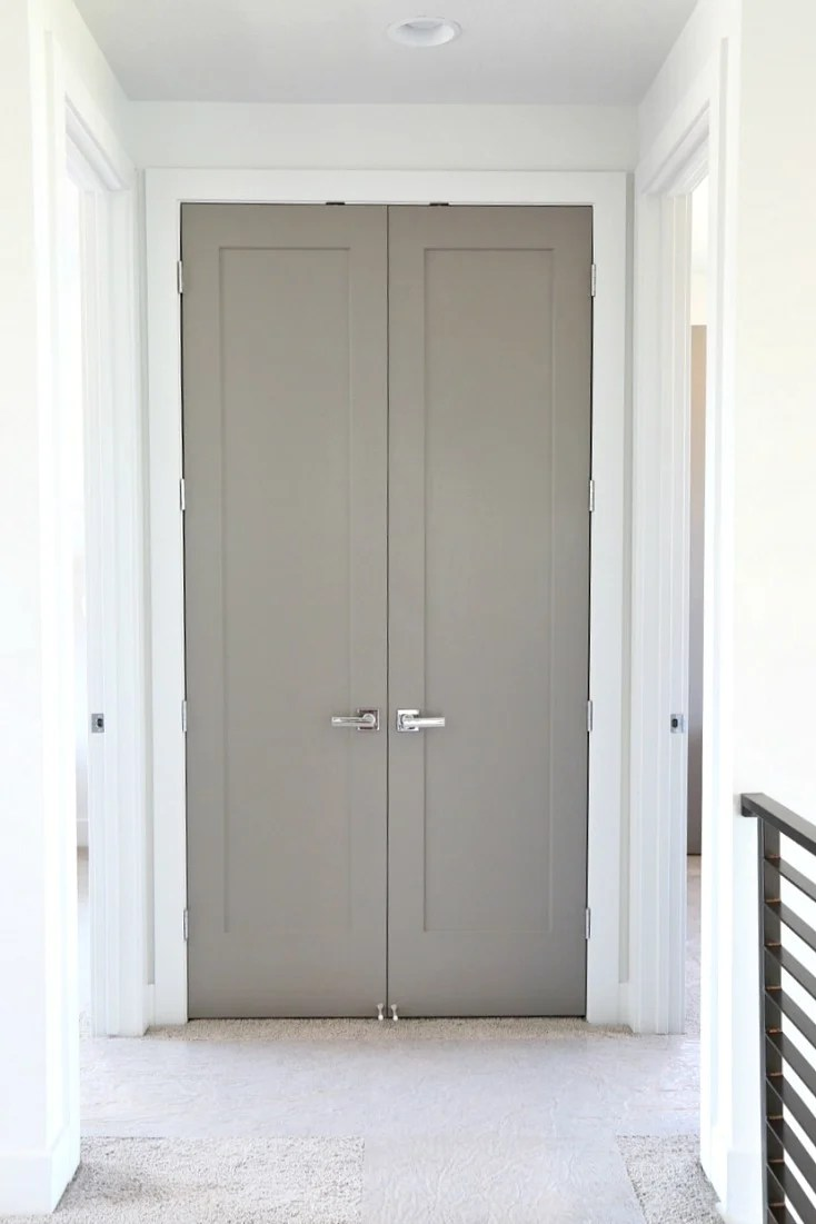 Perfect Choosing Interior Door Styles And Paint Colors: Trends