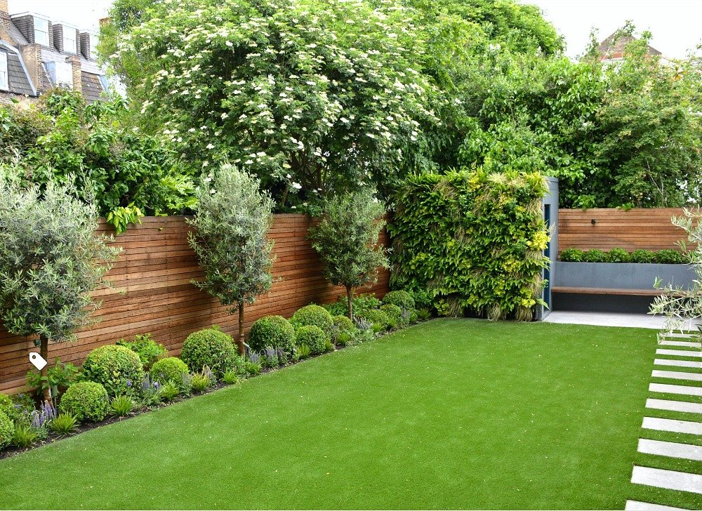 Beautiful Modern Fence Design Ideas on Modern Back Garden Ideas id=30553