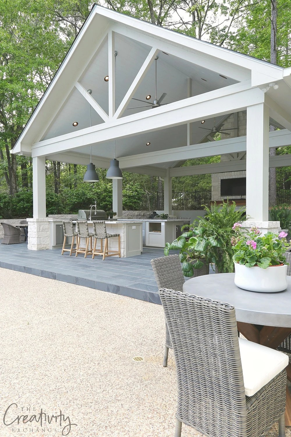 Outdoor Kitchen and Pool House Project Reveal on Outdoor Kitchen With Pool Ideas id=46804