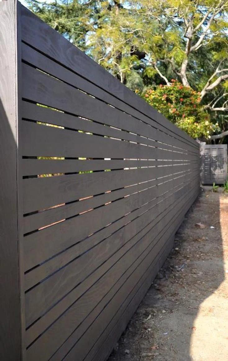Beautiful Modern Fence Design Ideas on Gate Color Ideas  id=44832