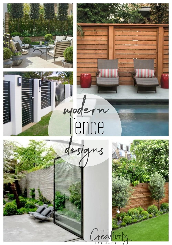 Beautiful Modern Fence Design Ideas on Gate Color Ideas  id=37142