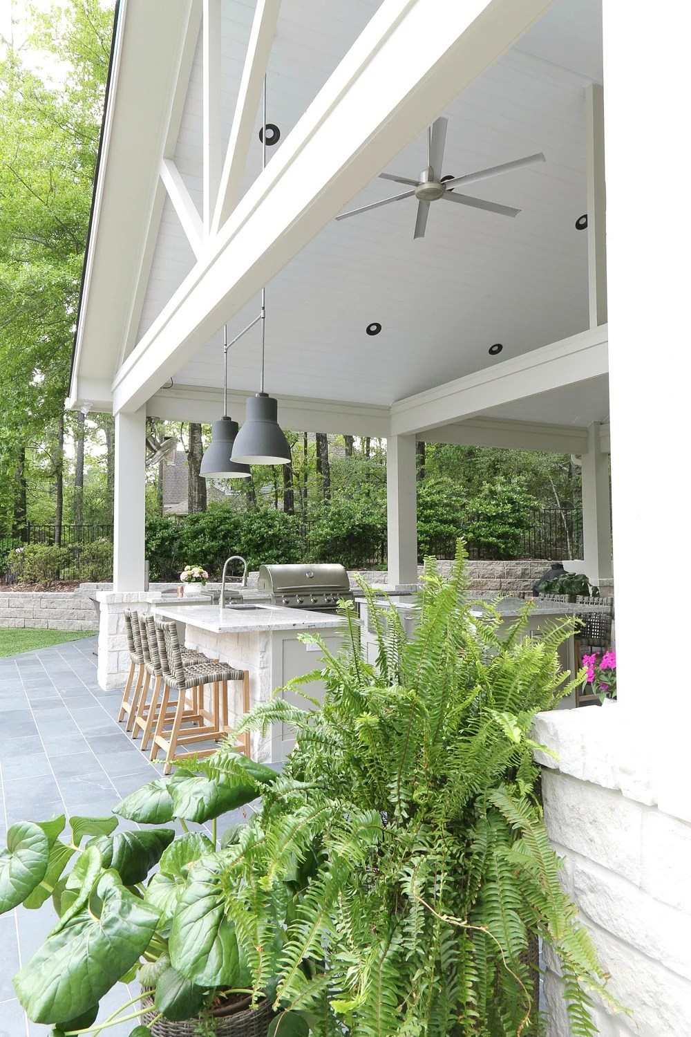 Outdoor Kitchen and Pool House Project Reveal on Outdoor Kitchen With Pool Ideas id=58217
