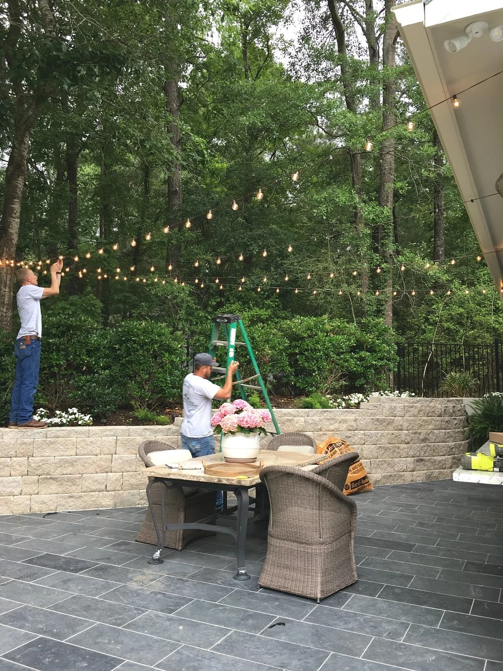 Quick Tips for Hanging Outdoor String Lights on Backyard String Light Designs id=75265
