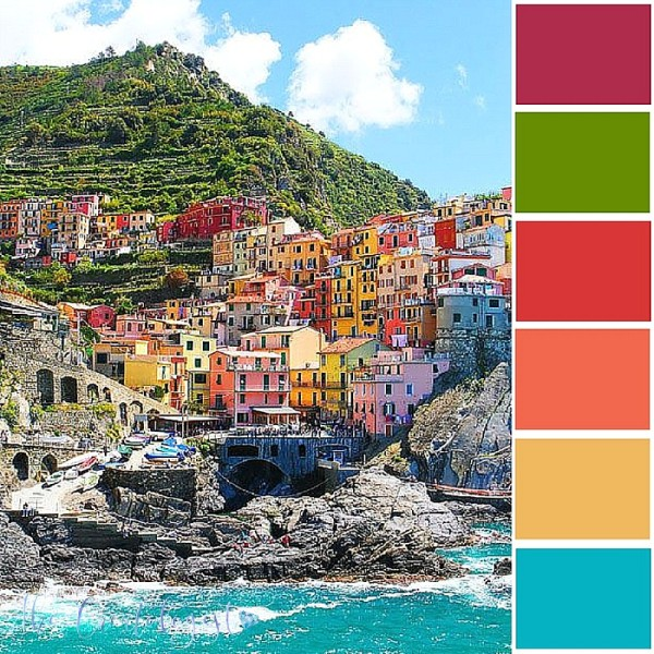 Color Inspiration   The Mediterranean