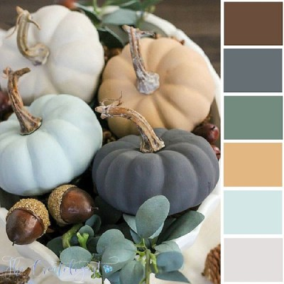 Color Inspiration | Vintage Pumpkins
