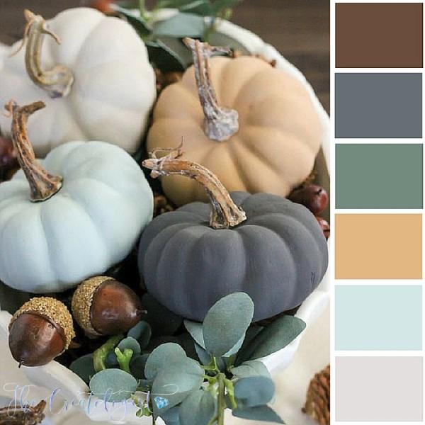 Color Inspiration | Vintage Pumpkins