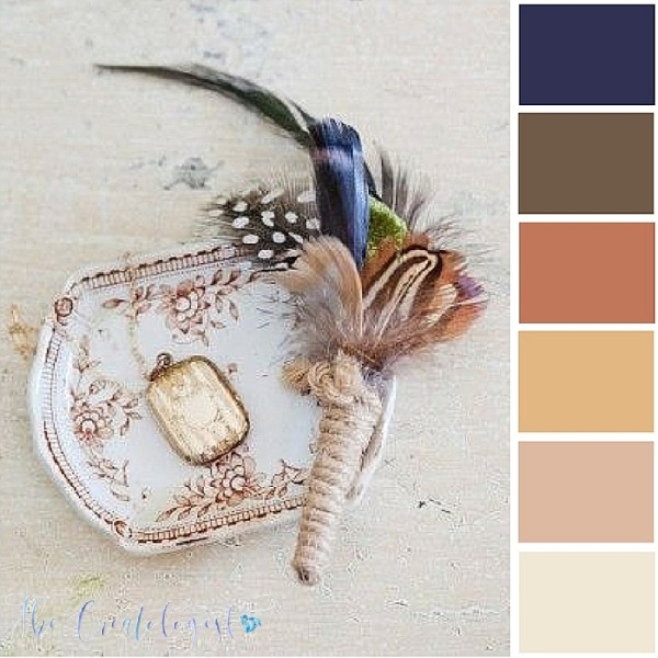 Color Inspiration | Feather Earth Tones