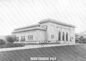 Auditorium 1914 (Present Day: Library)