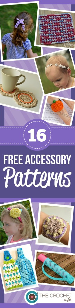 16 Free Accessory Patterns (Pinterest)