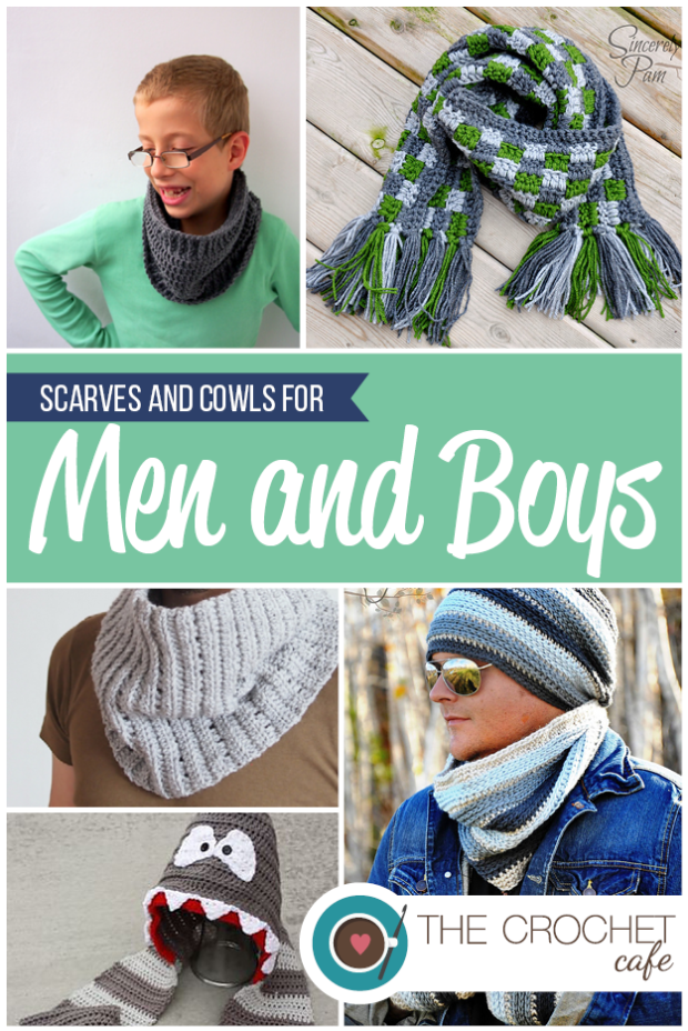 3) Scarves and Cowls for Men and Boys blog