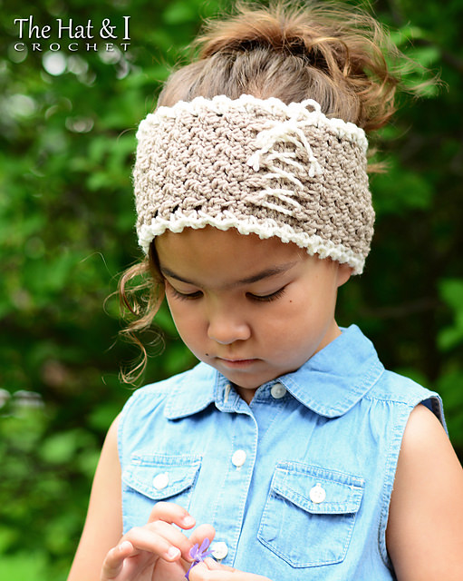 Cottage Chic Head Wrap by The Hat & I