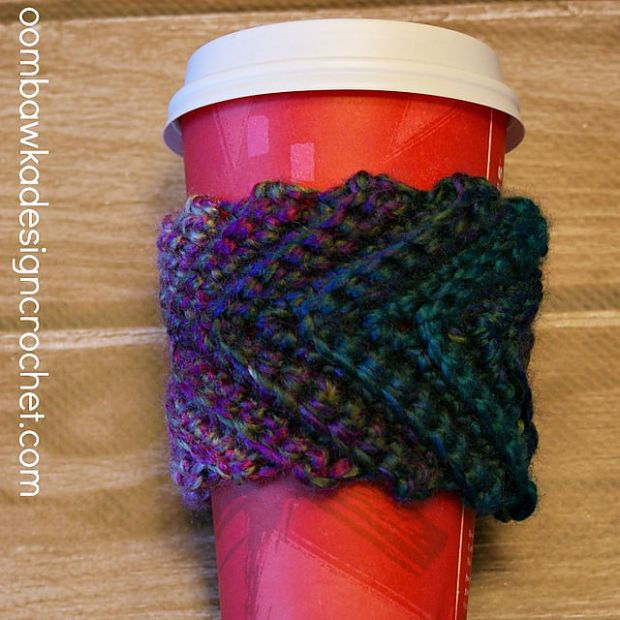 FREE Stash Buster Coffee Cup Sleeve by Oombawka Design
