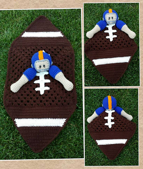 Football Lovey by Snappy tots