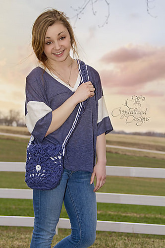 Pure Radiance Purse by Crystalized Designs
