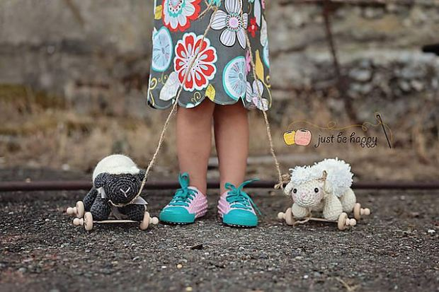 Sheep Toys - just be happy